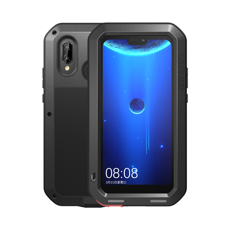 Coque de protection hybride blindée boîtier étanche Fundas boîtier étanche à l'eau/saleté/choc/pluie pour Huawei P20 lite nova 3e