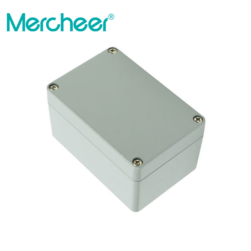 Apprehensive 150*100*80mmtop Quality 100% Aluminium Material Waterproof Ip66 Standard Sealed Aluminium Box Goods Of Every Description Are Available Connectors