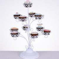 Stainless Steel Cake Tree Stands Cupcake Shelf Wedding Birthday Party Dessert Rack Stands Display Backing Tools