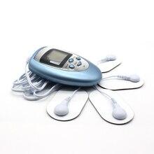 Електрически стимулатор за цялото тяло Обратно назад Мускулна терапия масажор LCD екран импулс десетки Акупунктура електрически масажор