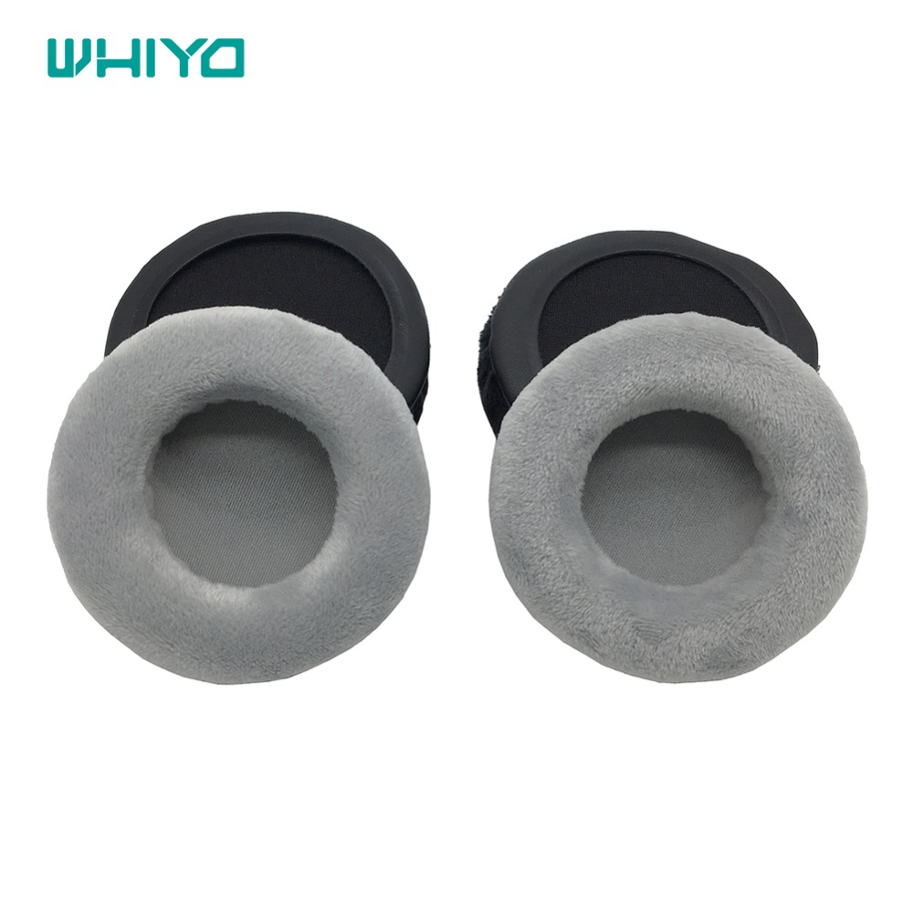 Whiyo Velvet Leather Earpads Replacement Ear Pads Spnge for Superlux HD681EVO <font><b>HD668B</b></font> HD669 HD662 HD662B Headphone image