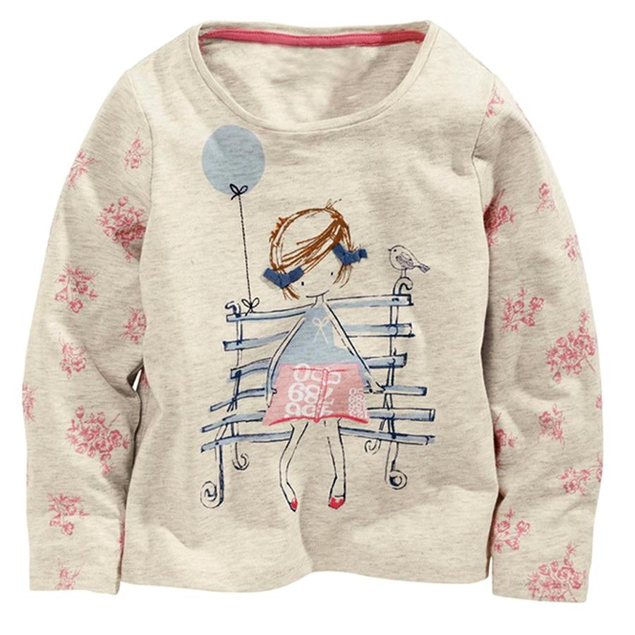 Little maven baby girls tops girls t shirt cotton baby for Newborn girl t shirts