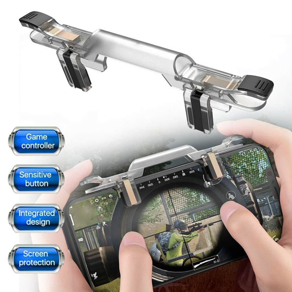 PUBG Mobile Phone Game Trigger Fire Button Handle For Shooter Controller