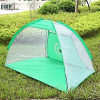Hot Sales PGM 2M Golf Cage Practice Training Aid Net For Indoor Outdoor Garden Grassland Nylon