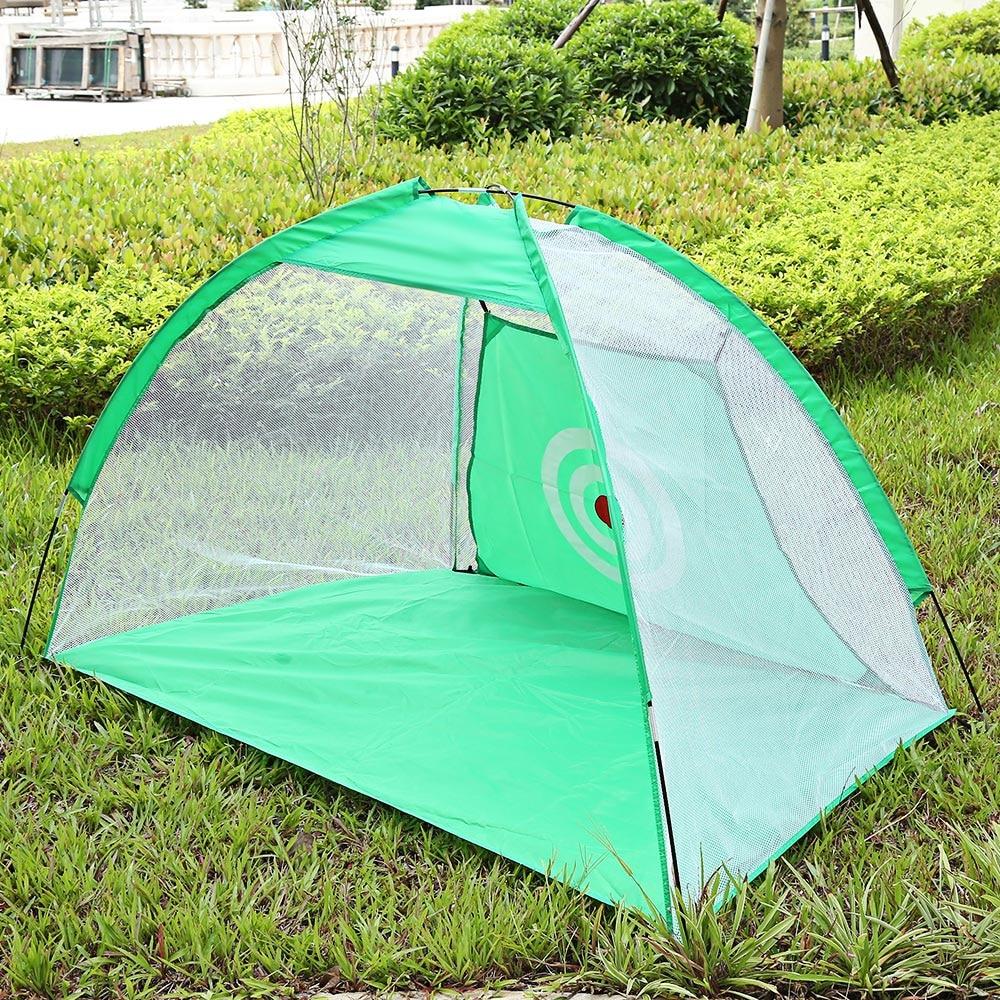 2M Golf Cage Practice Training Aid Net for Indoor Outdoor Garden Grassland Foldable Nylon Body Net for Outdoor Training куплю golf 2 1986 г в дизель