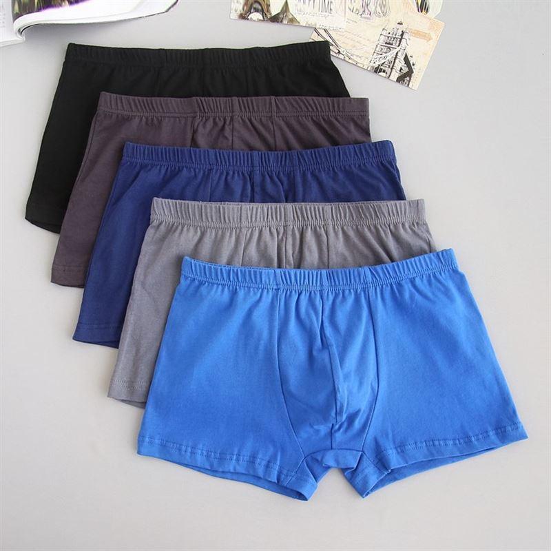Men Long Leg Boxer Underwear Underpants Cotton Comfort Shorts Trunks Panties Lot