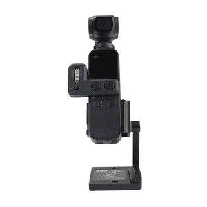 Image 2 - Masaüstü tabanı sabitleyici alüminyum tutucu ayarlanabilir açı dji osmo cep 2 gimbal kamera aksesuarları