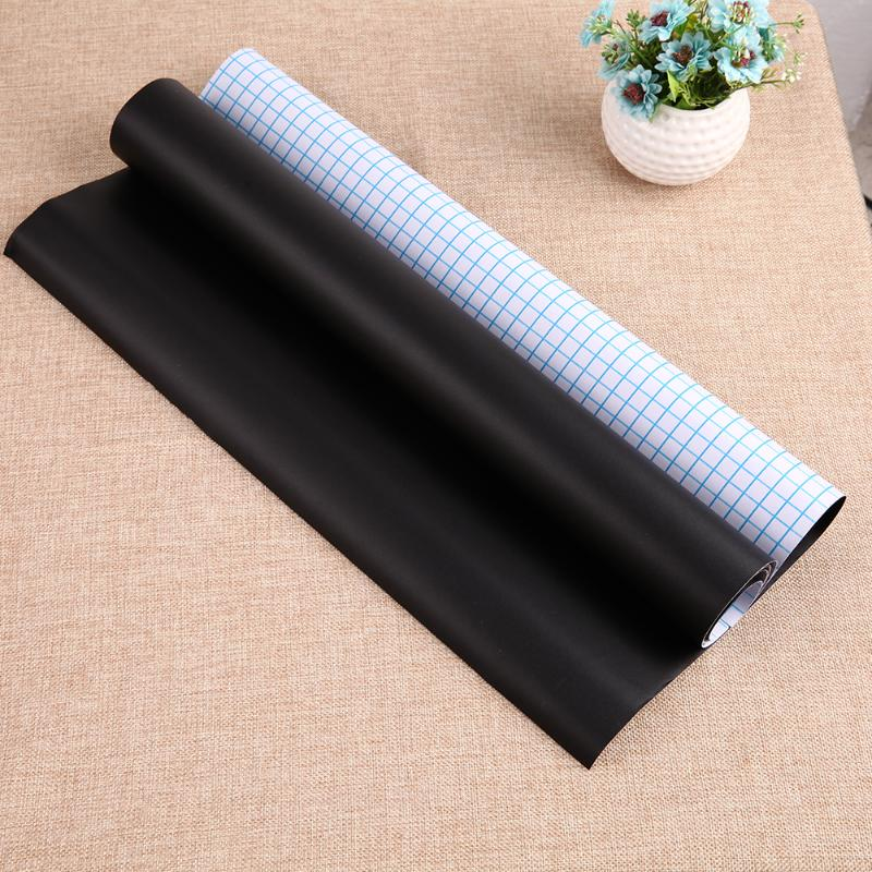 110*45cm Removable Blackboard Sticker Erasable Chalkboard Stickers Kids Room Vinyl Draw Decor Decals Office School Supplies