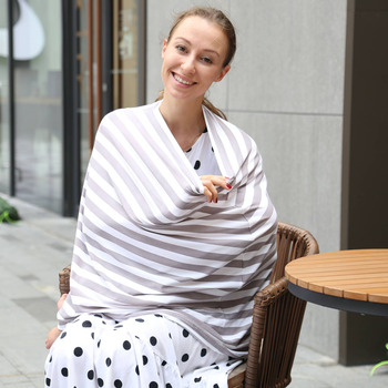 Nursing Breastfeeding Cover Scarf Barneybay
