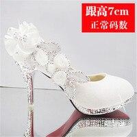 0bee6654bd Sapato De Noiva. 2018 Shiny Gorgeous Wedding Bride Party Crystal High Heels  Women S Shoes Sexy Woman Pump Fashion