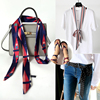 Spring And Autumn Fine Narrow Women Scarf Wild Belt Scarf Long Bag With Scarf Decoration