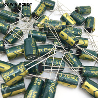 aluminum electrolytic capacitor 20pcs 220uF 35V 105C Electrolytic Capacitor 35V 220UF 8x12mm Aluminum Electrolytic Capacitor (4)