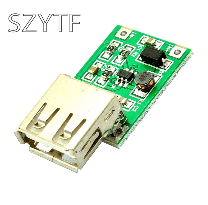 5PCS DC 0.9V-5V To 5V USB Charger Step Up Module 600MA Mobile Power DC-DC Boost Converter ...