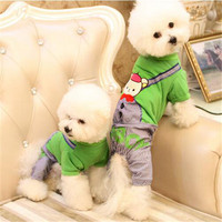 2016 Puppy Clothes Dogs Shirt Coat Pets Shop Summer Clothing Golden Retriever Mascotas Chiens Chihuahua Polo