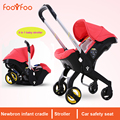 Hot Selling 3 in 1 Baby Stroller, Especial Designed Newborn ( Pushchair + Cradle + Safety Car Seat) Easy Folding Baby Carriage