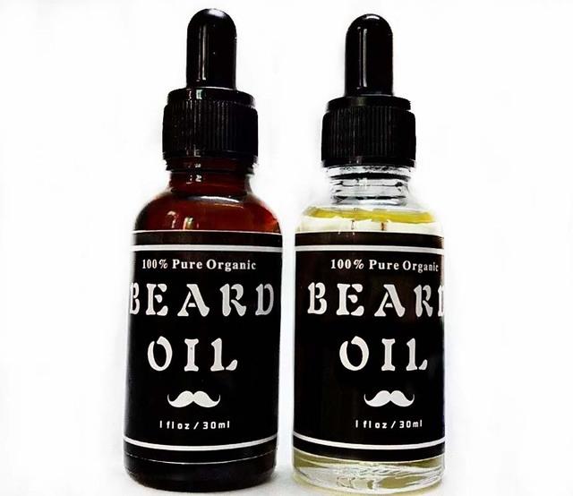 Elección de los hombres Barba Aceite, todo Natural, 100% Pura Mezcla de Ingredientes Naturales: Promueve El Impresionante Crecimiento de la Barba, detiene La Comezón
