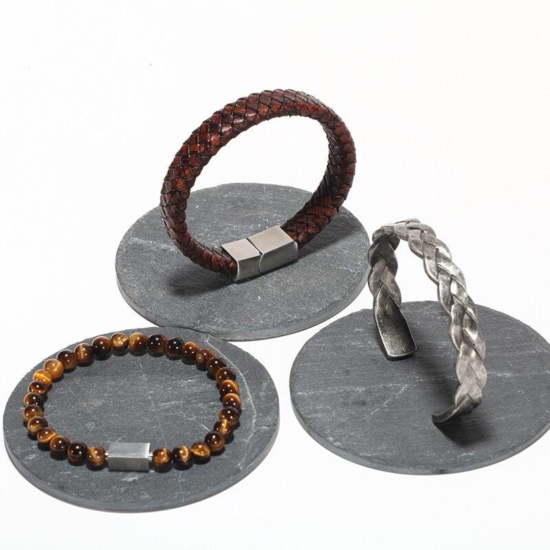 Bracelet viking torsadé titane 5