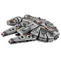 1381pcs Lepin 05030 Star War Building Blocks Force Awakens Millennium Falcon Model Kits Rey BB 8