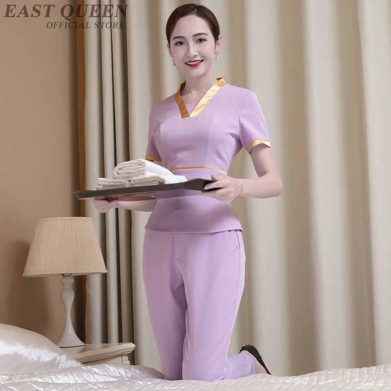 Spa üniforma güzellik salonu masaj üniforma giyim tıbbi scrubs önlük hemşire güzellik salon klinik üniforma kadın AA3899