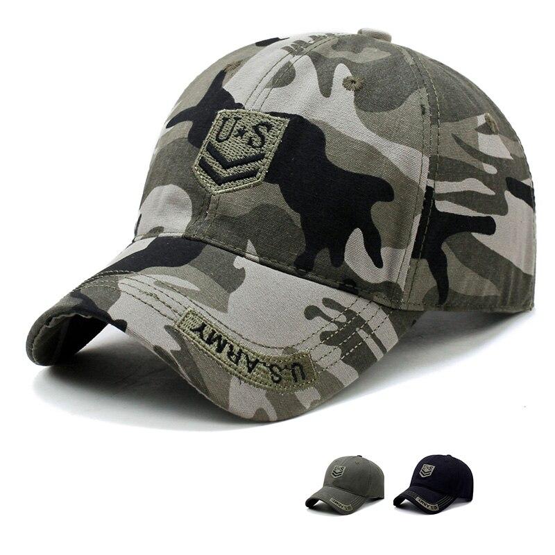 Baseball-Hats Snapback-Hat Pentagram-Cap Bone Male Camo Visor Top-Quality U.S. Men Men's