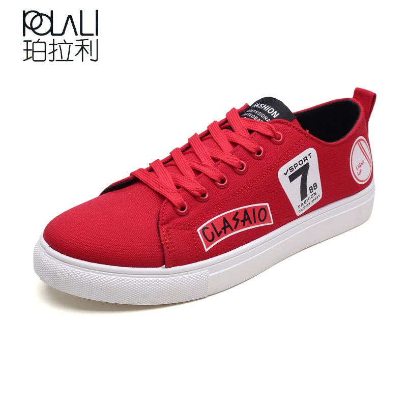 2018 New Style Men Fashion Casual Shoes Canvas Male Footwear Comfortable  Flat Shoes Lace-Up 141067b7517