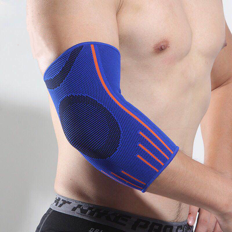 Breathable And Comfortable Fit Arm Sleeve Knitted Long Sweating Protective Riding Elbow Pads