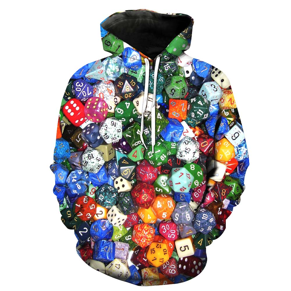 Men's Clothing Hearty 2018 New Navy Blue Hoodie Sweatshirt Men Women Hoodies Rubik Cube 3d Print Sweatshirts Hoodies Hoody Tracksuits Asian Size M-4xl