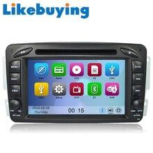 Car 2 Din  DVD GPS Stereo Device Head Unit Navigation Radio Player for Benz  W639 W638 W203 W168  C209 W209 W463