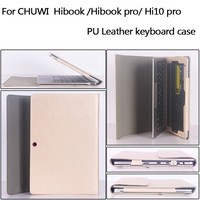 Business Stand Pu Leather Case 10 1 Inch For Chuwi HiBook Tablet PC Keyboard Protective Sleeve