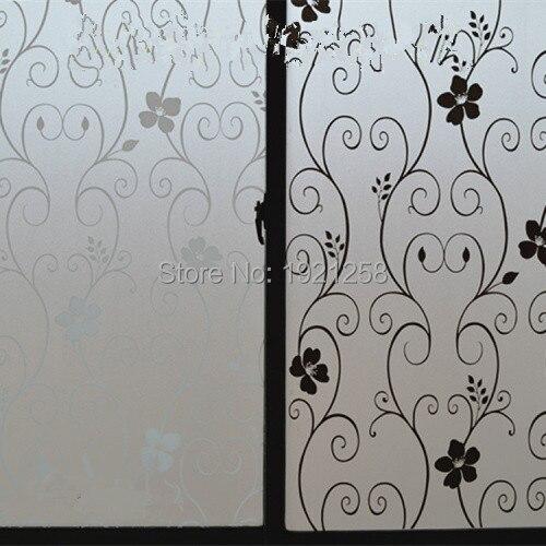 Captivating Kostenloser Versand Kleber Glasfilm Peeling Schallabsorbierende Papier  Fenster Papier Eisen Blume Balkon Sonne Glas Papier Zurück