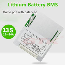 48V BMS 13S 15A 20A 25A 30A High quality batterie bms 48V li ion cell BMS li-ion battery 3.7V protection board 13S 1000W 1200W(China)