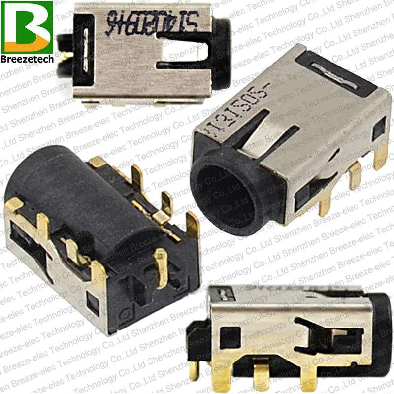 1~100pcs/lot Genuine NEW DC Power Jack Connector For Asus S200 X200 UX42 UX52 S400CA U305F X202E S201E Charging Port Socket