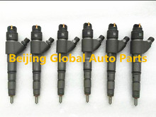 Fuel Injection Pump Injector 0445120066 0986435548 04290986 4289311 7420798114 Electrical Injector for Excavator D6D Engine