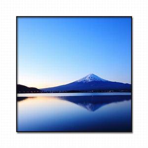 Image 5 - Cuadro de Arte de lienzo pintura al óleo moderna decoración del hogar Fuji paisaje de montaña póster e impresiones pasillo de hotel Impresión de marco de arte mural