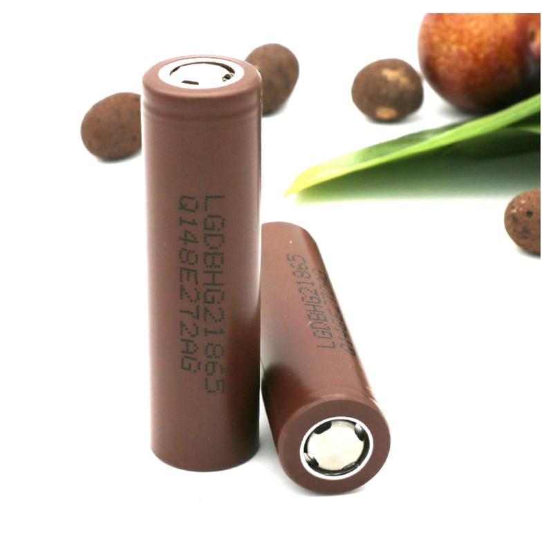 100% New Original HG2 18650 3000mAh Battery 18650HG2 3.6V Discharge 20A, Dedicated For LG E-cigarette Power Battery
