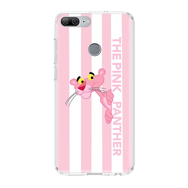 Pink Panther Art Printing Protect Phone Case For Huawei Honor 8X 20 9 10 lite 8A Pro 10i 20i 8S V20 Y5 Y6 Y7 Y9 2019 Prime Cover in Half wrapped Cases from Cellphones Telecommunications