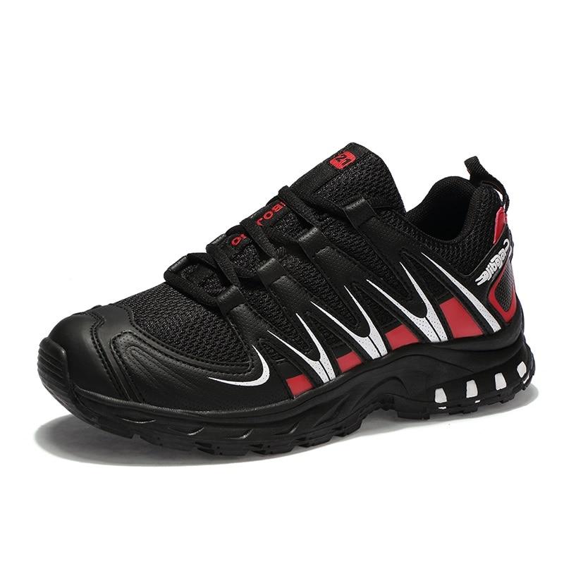Noir Plein Mâle De bleu Appartements Sneakers Lumière Taille Formateurs Plus D'été En Automne La 46 black Hommes gris Red Mesh Chaussures 38 Marche Casual 2018 Respirant Air pxUwCCB7
