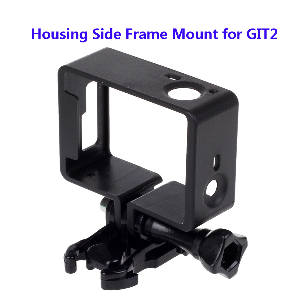 Free Shipping Protective Housing Side Frame Mount for GIT2 GIT Camera with Base Long Screws Git