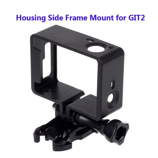 Frete Grátis!! Caixa de protecção Do Lado do Quadro de Montagem para Câmera + com Base de Parafusos Longos Git GIT GIT2 2 Acessórios