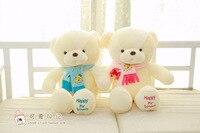 Fashion 80cm Mini Plush Joint Teddy Bears Couple Teddy Bear Scarf Bear Plush Toys For Girl Friend Hot Sale 2018