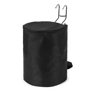 Image 1 - Scooter Accessory Foldable Front Hanging Storage Bag Front Scooter Accessory Basket for Xiaomi M365 Electric Scooter Accessory