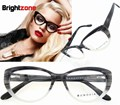 Free Shipping Fashion High End Cat Eye Acetate Eyeglasses Prescription Eye glasses Frame Oculos de grau Femininos B5002 CE FDA