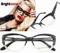 Frete Grátis Moda High End Gato Olho Óculos De Acetato de Prescrição óculos de Armação oculos de grau Femininos B5002 CE FDA