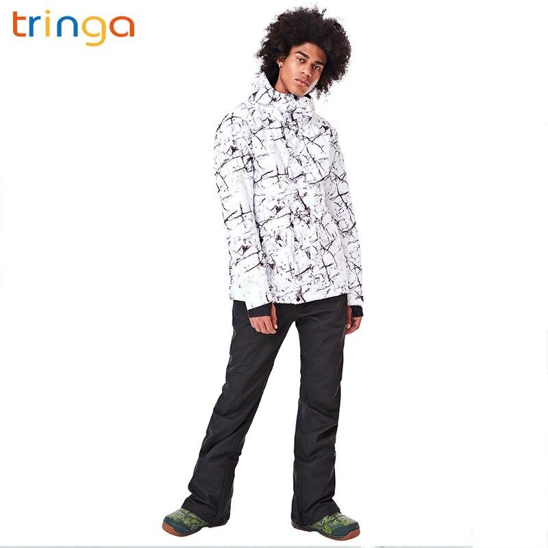 Nouveaux hommes combinaison de Ski Super chaud vêtements Ski Snowboard veste + pantalon costume ensemble coupe-vent imperméable hiver sports de plein air vêtements