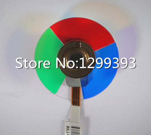 Projector color wheel for   Optoma EP753  Free shipping original projector color wheel for optoma ex540i