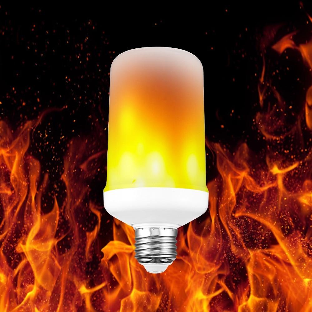E27 LED Fire Lamp Flame Effect Fire Light Bulbs 3W ...