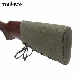Tourbon accessoires pistolet de chasse fusil fusil fusil Buttstock tampon de recul antidérapant joue reste 1.5CM éponge protecteur Nylon réglable