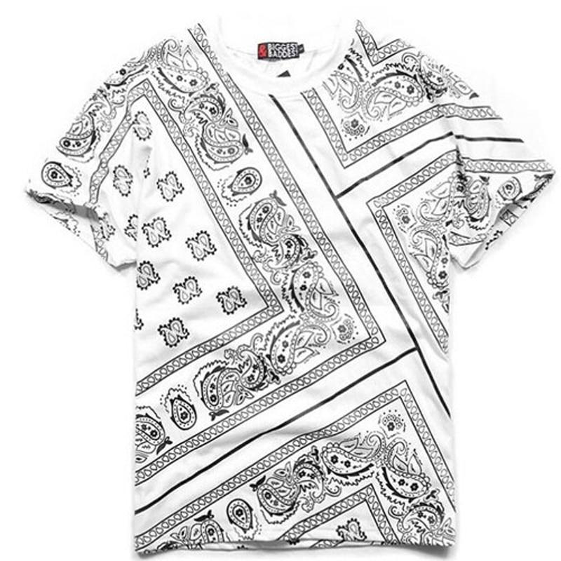 Bandana Shirt Cotton West Cashew T Shirt Bandana 2019 - Տղամարդկանց հագուստ - Լուսանկար 2