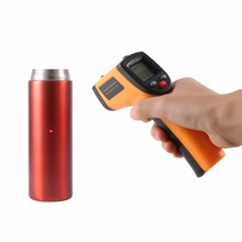 купить Infrared Thermometer Non-Contact Digital LCD Gun IR Laser Point Thermal Infrared Imaging Temperature Handheld Meter Pyrometer по цене 163.48 рублей