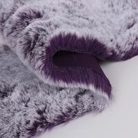 Luxury Faux Fur Winter Coat Sew Fabric 50x170cm Artificial Rabbit Fur Long Pile Artificial Fur